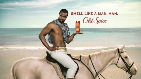 "Old Spice celebrates the 10-year anniversary of the viral ""Smell Like a Man, Man"" campaign with the return of the original Old Spice Guy, Isaiah Mustafa, to launch the NEW ""Smell Like Your Own Man, Man"" campaign and Ultra Smooth lineup, featuring subtle scents and dermatologist-tested formulas. (Photo: Business Wire)"