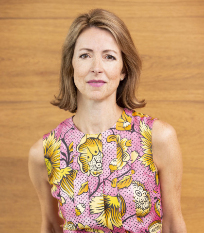 Dame Helena Morrissey signs with Kruger Cowne Agency (Photo: Business Wire)