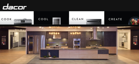 Dacor Delivers a Legendary Experience at KBIS 2020 Debuting Three New Style Collections and Personalized Customization Tools for the Kitchen (Photo: Business Wire)