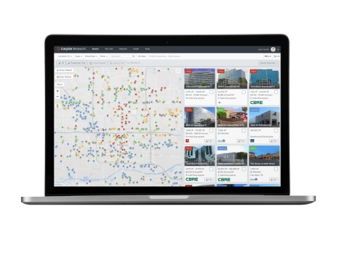 Catylist Research is a fully researched commercial real estate listings database in Phoenix. (Photo: Business Wire)