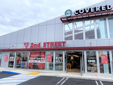 2nd STREET Torrance, store exterior (Photo: Business Wire)