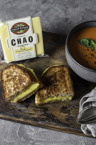 #1 Plant-Based Cheese Slice Chao Creamery Creamy Original Expands Retail Presence in US and Canada