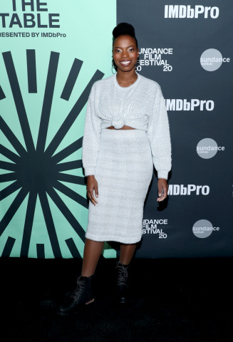 PARK CITY, UTAH - JANUARY 23: Sasheer Zamata attends Sundance Institute's 'An Artist at the Table Presented by IMDbPro' at the 2020 Sundance Film Festival on January 23, 2020 in Park City, Utah. (Photo by Rich Polk/Getty Images for IMDbPro)