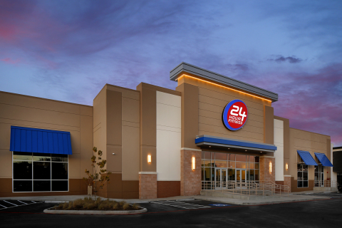 24 Hour Fitness Club Exterior (Photo: Business Wire)