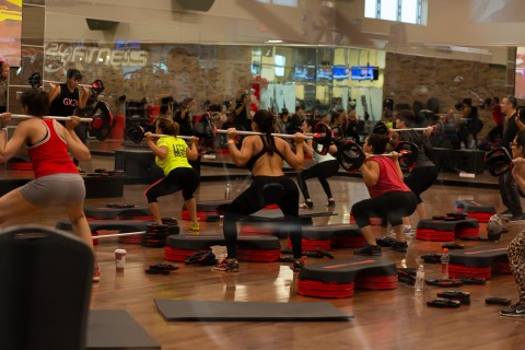24 Hour Fitness Group X Class (Photo: Business Wire)