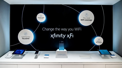 Xfinity customers can learn how to personalize, manage and control all connected devices in their home with Xfinity xFi at their nearest Xfinity Store. (Photo: Business Wire)