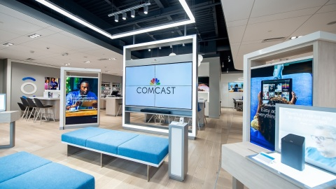 Comcast's Xfinity Stores are designed to give customers an opportunity to explore, learn and interact directly with the latest Xfinity products and services. (Photo: Business Wire)