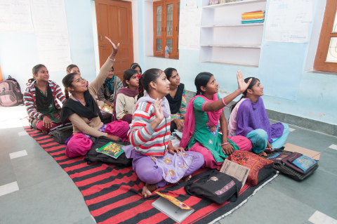 The Pentair Foundation recently awarded a grant to Pratham, one of the largest and most successful nonprofit education organizations in India. Pratham delivers quality education to women and girls in communities across 21 of 29 Indian states. (Photo: Business Wire)