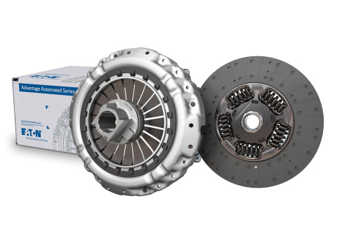 Eaton's Advantage Automated Series clutches are available for the most popular automated transmissions in North America, including Eaton Cummins Endurant, UltraShift PLUS, Detroit DT12, Volvo I-Shift and Mack mDRIVE. (Photo: Business Wire)