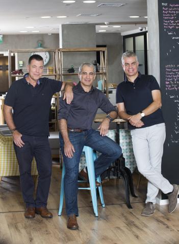 Iguazio co-founders Yaron Segev (left), Yaron Haviv, and Asaf Somekh. Photo: Yanai Yechiel