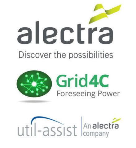 Leading utility Alectra Inc. invests $5M in Grid4C to scale its #1 ranked AI-powered energy analytics (Photo: Business Wire)