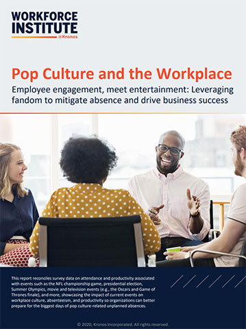 When fandom strikes, absenteeism soars. This guide explains why 2020 will be the year of workplace absence and offers managers advice to embrace pop culture and current events to drive employee engagement. (Graphic: Business Wire)