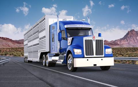 Kenworth W990 Truck (Photo: Business Wire)