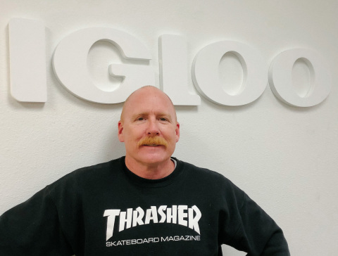 Igloo proudly welcomes Ryan Kingman to the newly created position of VP, Partnerships. (Photo: Business Wire)