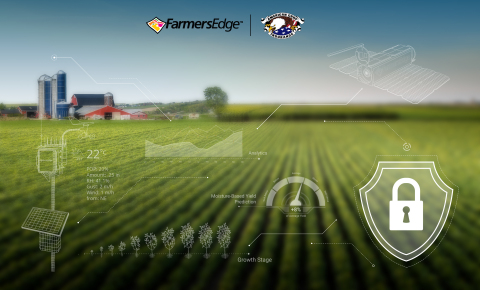 American Crop Insurance partners with Farmers Edge to use the digital agriculture company's technologies to create a digital connection with growers. (Photo: Business Wire)