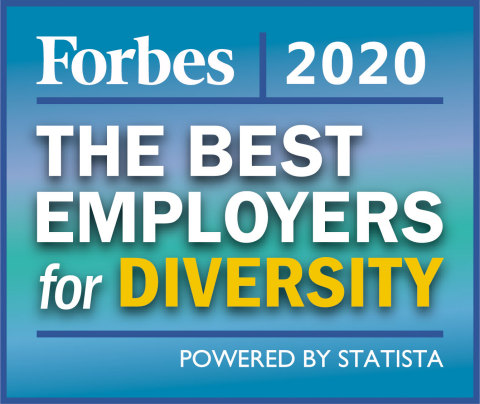 The Hartford is the highest ranked property-casualty insurance company in Forbes' annual list of America's Best Employers for Diversity. (Graphic: Business Wire)