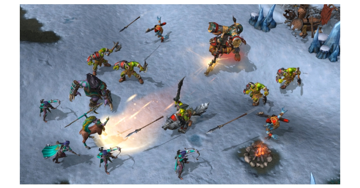 To Battle Warcraft Iii Reforged Is Now Live Business Wire
