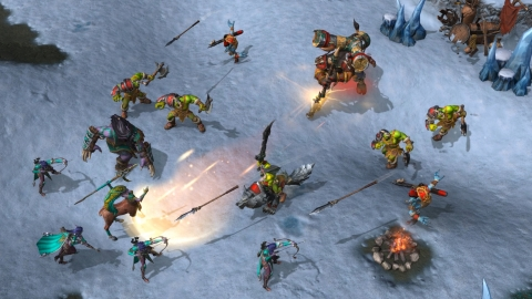 Experience a pivotal period in the Warcraft saga through an epic single-player story spanning over 60 missions, and test yourself in battle online with Warcraft III's timeless competitive multiplayer gameplay. (Graphic: Business Wire)