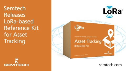 Semtech Asset Tracking Kit Available (Graphic: Business Wire)