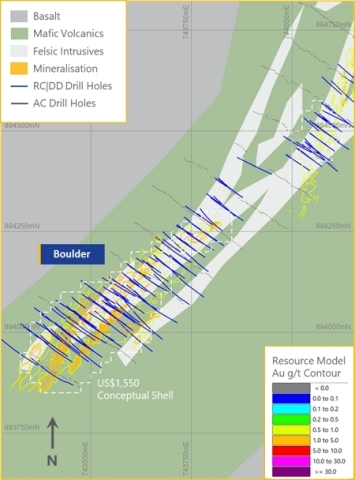 Boulder Mineral Resource (Photo: Business Wire)