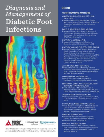 Diagnosis and Management of Diabetic Foot Infections (Photo: Business Wire)