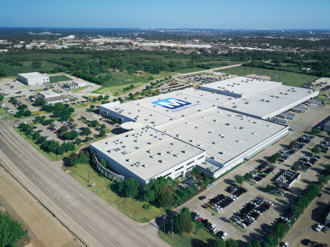 Mouser is a Top 10 global distributor of electronic components, with a large corporate campus in Mansfield that spans more than 1 million square feet of office and warehouse space. (Photo: Business Wire)
