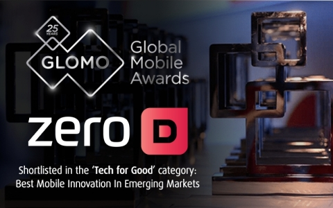 Zero-D has been shortlisted for a 2019 GLOMO Award in the category: Tech 4 Good, Best Mobile Innovation In Emerging Markets (Photo: Business Wire)