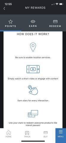 Cubic Interactive on GO Miami-Dade Transit Mobile App: First-of-its-kind loyalty rewards platform for transit agencies. (Graphic: Business Wire)