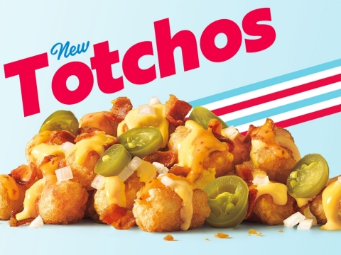 SONIC® Drive-In unveils Totchos, a new nacho-inspired upgrade to its best-in-class lineup of snacks. (Photo: Business Wire)