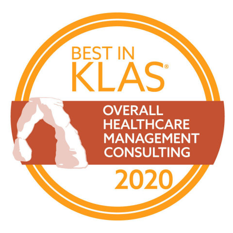 Accenture secures leader ranking from KLAS Research: Best in KLAS in Overall Health Management Consulting 2020 (Photo: Business Wire)