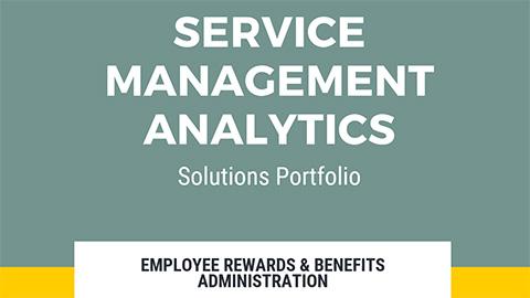 Service Management Analytics Solutions Portfolio
