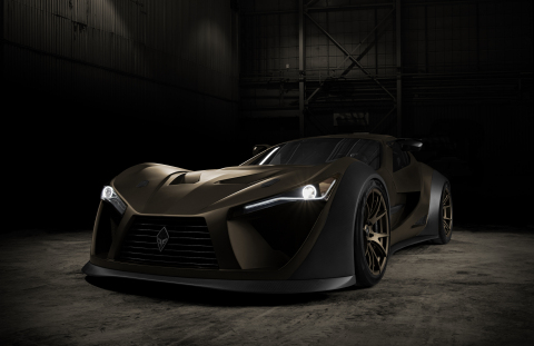 Canadian-made supercar FELINO cB7R will be presented at the Canadian International AutoShow from February 14 to 23, 2020. (Photo: Business Wire)