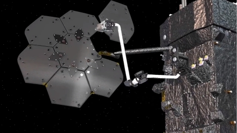 Maxar will integrate robotics for on-orbit assembly with NASA's Restore-L spacecraft. Image: Maxar Technologies