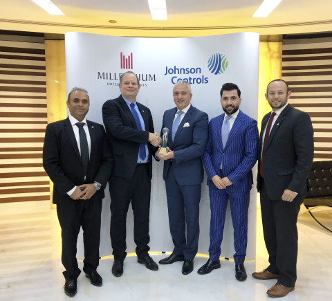 Group Photo: Millennium Hotels and Resorts partners with Johnson Controls (Photo: AETOSWire)