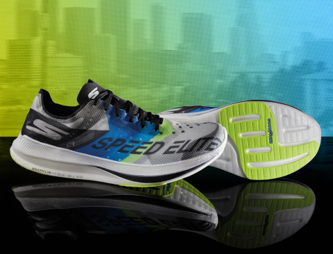 Skechers GOrun Speed Elite Hyper—the brand's ultra-lightweight flagship racing flat—is now available to all competitive runners. (Photo: Business Wire)