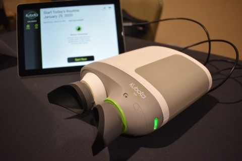 Acucela's Swept Source-OCT device prototype (Photo: Business Wire)