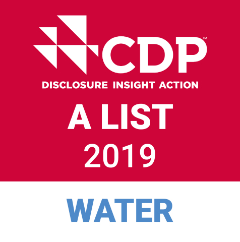 CDP Water Security A List Stamp (Graphic: Business Wire)