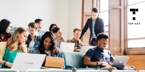 More than 2.7 million students are enrolled in courses using Top Hat at 750 of the top 1,000 higher ed institutions in North America (Photo: Business Wire)