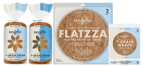 Angelic Bakehouse Reduced Sodium + No Salt Added Products (Photo: Business Wire)