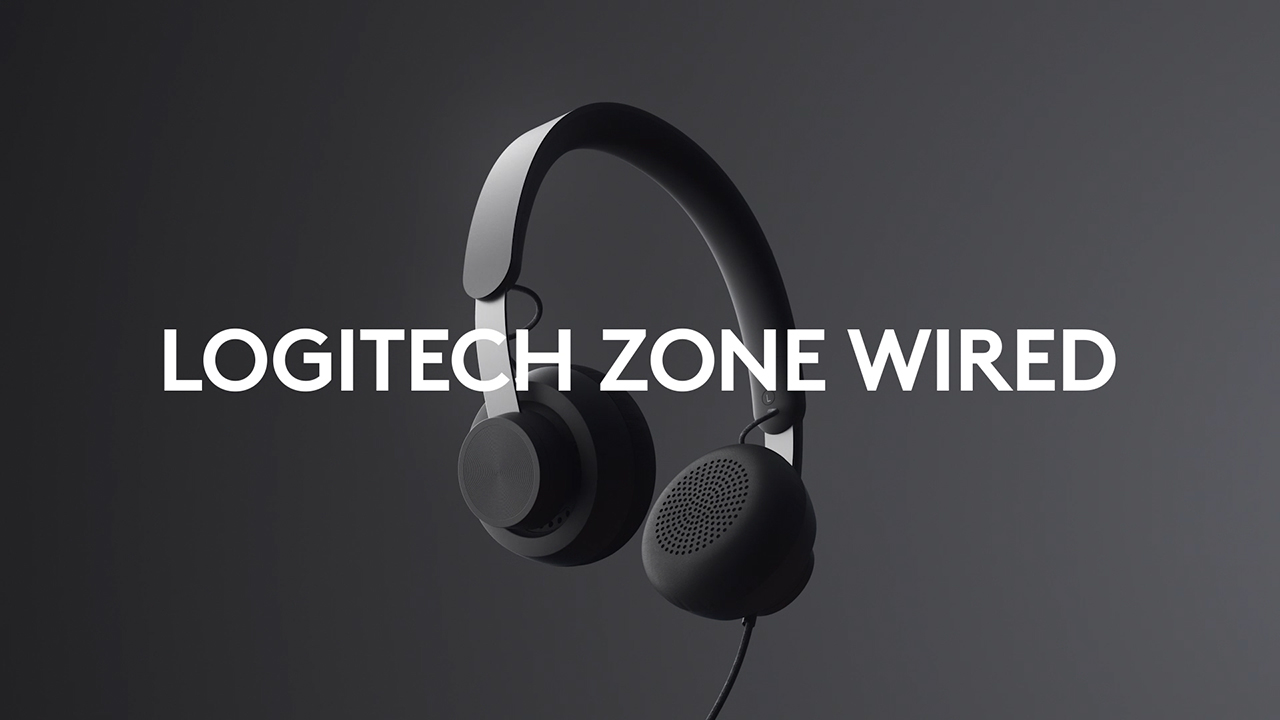 Logitech unveils new Zone Wired headset, expanding its video collaboration solutions for the personal workspace.