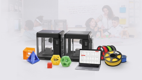 MakerBot SKETCH Classroom, the ideal classroom setup (Photo: Business Wire)