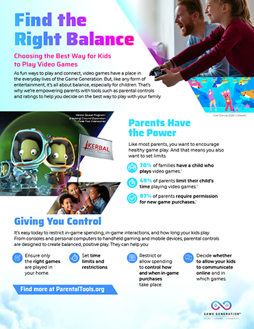 Infographic: Find the Right Balance
