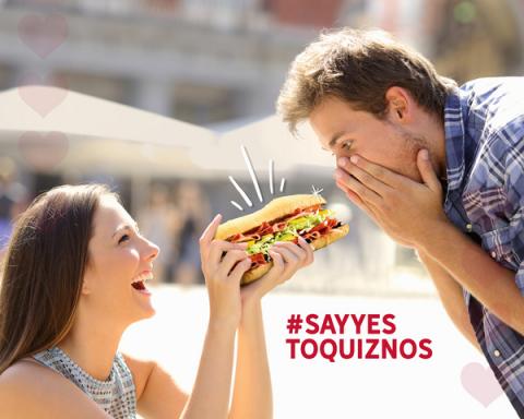 #SayYesToQuiznos (Photo: Business Wire)