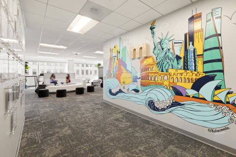 Measurabl's recently completed 9,500-square-foot office at EMMES' downtown 708 Broadway building. (Photo: Business Wire)