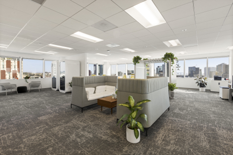 The new office offers a large, open floor plan and gives the team room to grow. (Photo: Business Wire)
