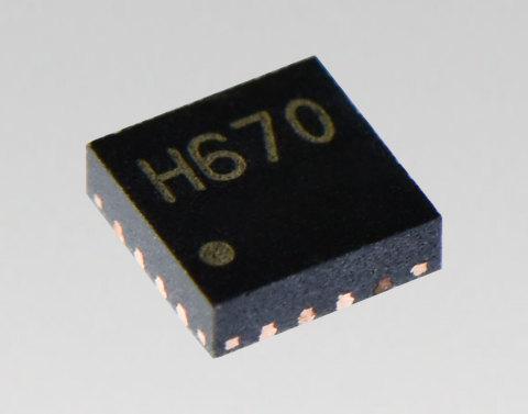 東芝:小型パッケージの高分解能ステッピングモータードライバーIC「TC78H670FTG」 (写真:ビジネスワイヤ)