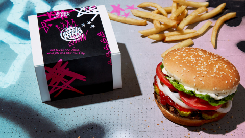 Burger King® Restaurants partner with DC'S Harley Quinn and the Birds of Prey to flame-grill memories of your ex and emancipate your heart this Valentine's Day (Photo: Business Wire)