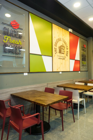 The new Quiznos in Sabana Costa Rica is one of many new locations opening in Latin America this year. (Photo: Business Wire)