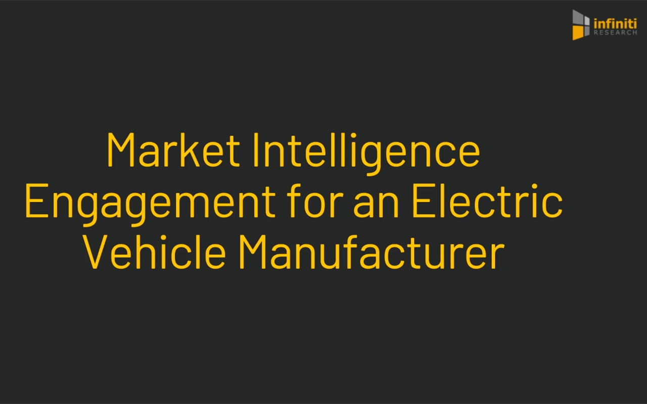 Infiniti Helped an Electric Vehicle Market Client Increase Profit Margins by 29%