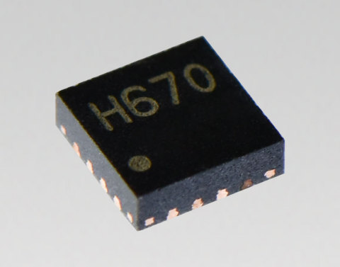"""Toshiba: Compact, low power, high resolution micro-stepping motor driver """"TC78H670FTG"""" (Photo: Business Wire)"""